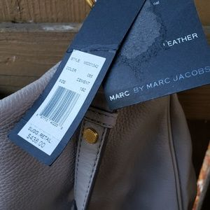 NWT Marc by Marc jacobs grey ( cement) bag